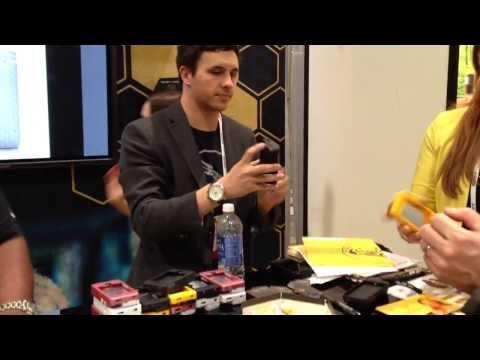 Yellow Jacket Iphone Stun Gun Case released CES 2014