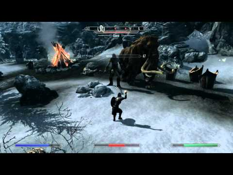 Skyrim How to: Training 3 skills at once