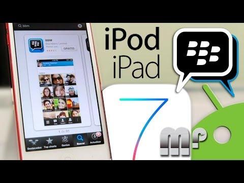 BBM para iPod, iPad, iPhone & Android (Noti Tuto ShortReview)