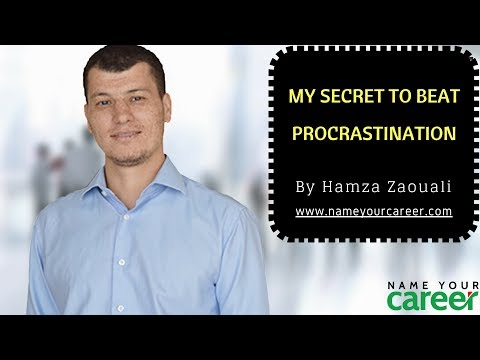 My secret to beat procrastination - 100% Bullet Proof
