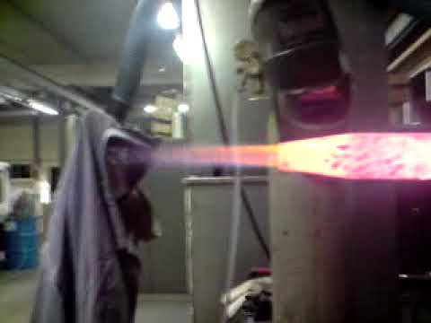 Jet Engine/blowtorch/combustion chamber experiment 3