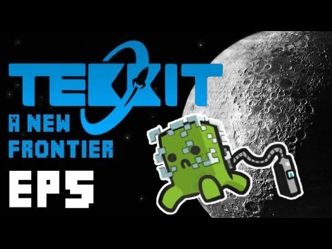 Tekkit - A New Frontier Ep.5 Turtles and The Tardis!