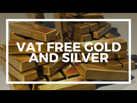Buy gold and silver vat free  -  the best places in Europe