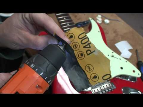 Quick way to restore rusty screws on your Guitar!