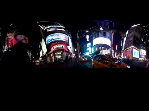 Walking Through Times Square To Port Authority