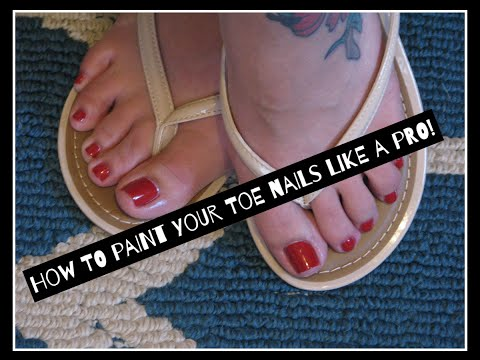 How to paint your Toenails like a pro!