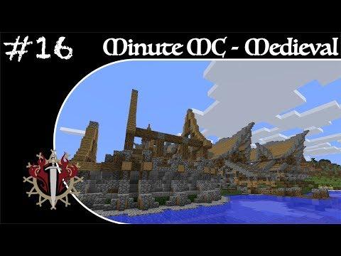 Minute Minecraft - Time Lapse - Medieval Village - Ep.16