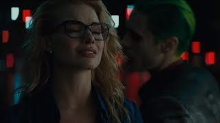 Suicide Squad Extended Cut | Harleen & Joker Motorcycle Chase | HD