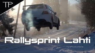 Arctic cold rallying - Neliöx Rallisprint 2017