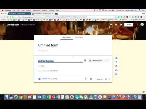 Formatting your Google Form