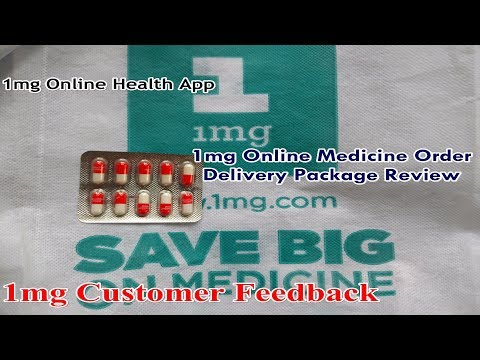 1mg Online Medicine Delivery Package Quality | Customer Feedback on 1mg Health App Service