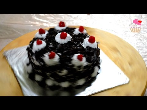 Black Forest Cake | How To Make a Cake at Home | Cake Decorating
