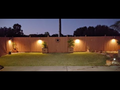 DIY $5 PVC LED Landscape Lights