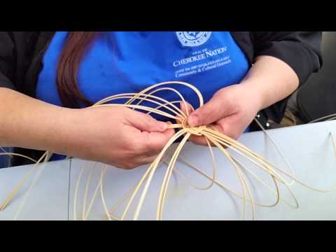 How to Cherokee Basket Weaving