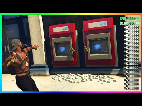 GTA 5 Online ATM Money Glitch! 1.43 (PS4/XBOX/PC)