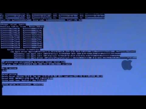 Fix a Kernel Panic on Hackintosh