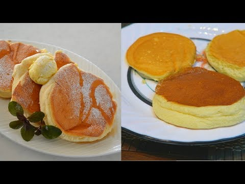 How To Make Japanese Fluffy Pancakes!