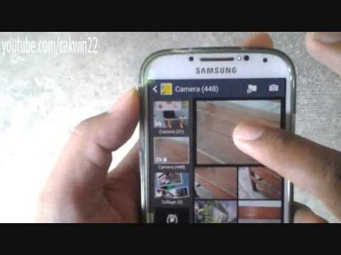 Samsung Galaxy S4: How to Delete Picture/ Photo (Android Kitkat)