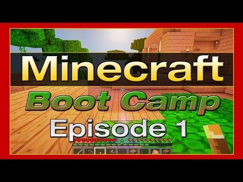 Minecraft Boot Camp : Episode 1 -  5 Ways to Die