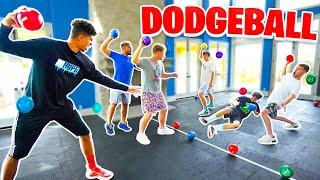 INSANE Mini-Court 3v3 DODGE BALL!