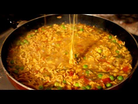 Cheese Maggi Noodles   Butter Cheese Maggi   Instant Vegetable Maggi   how to make maggi recipe