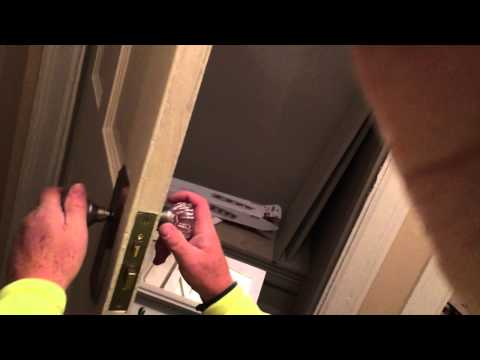 How to Change an Antique Door Lock