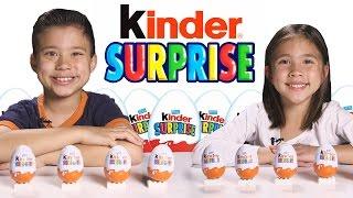 More Kinder Surprise Eggs!!! Let