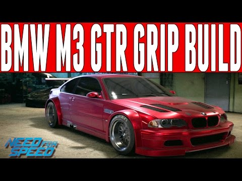 Need For Speed 2015 Grip Build : 700HP BMW E46 M3 GTR RACING MAGNUS'S RECORD!