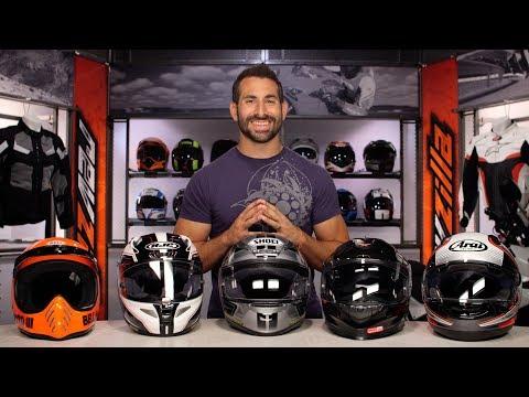Best Premium Full Face Motorcycle Helmets at RevZilla.com
