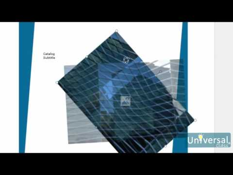 Lesson 5: Working with Objects - Microsoft Publisher 2016 Course | Universal Class