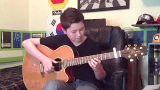 Naughty Boy - La La La ft. Sam Smith - Fingerstyle guitar cover