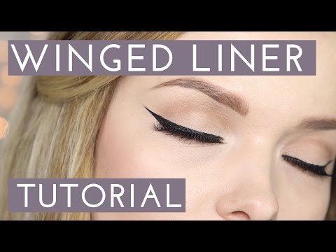 HOW TO: Easy Winged Eyeliner Tutorial // MyPaleSkin
