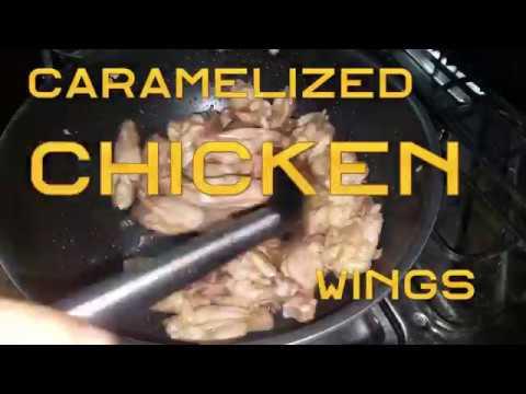 Caramelized Chicken Wings Recipe | Pakistani Kitchen