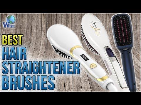 10 Best Hair Straightener Brushes 2018