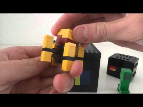 Lego Minecraft 3 (Blaze , Baby Ocelot and secret character !)