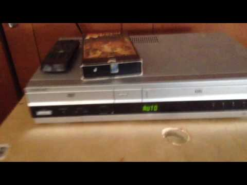 How to connect a vcr to a tv