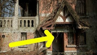 Guy Breaks Into An Abandoned Old Castle And Finds A Scene Stranger Than Fiction