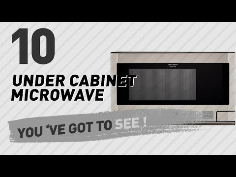 Under Cabinet Microwave // New & Popular 2017