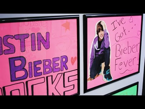 Take a Tour of the Justin Bieber Exhibit: Steps to Stardom