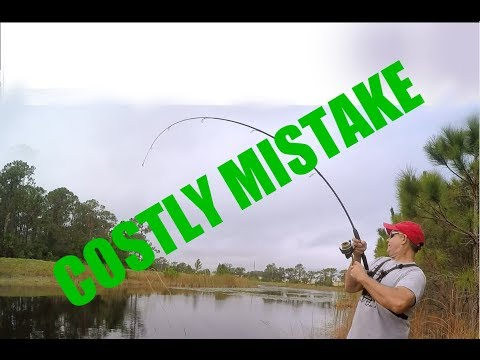 Very Costly Mistake While  Bass Fishing