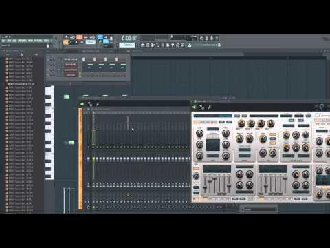 Uplifting Trance Tutorial - Fl Studio 12 - Part 1