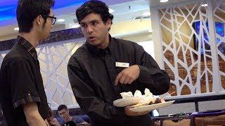 Fake Waiter At A Restaurant Prank!