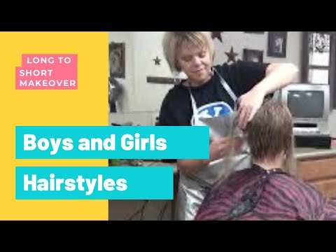 (Ladies Haircuts) from Long Hair to Short Girls Hairstyles