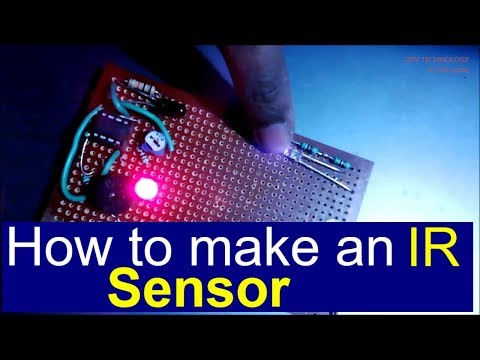 IR Sensor  Object Detection Touchless door bell
