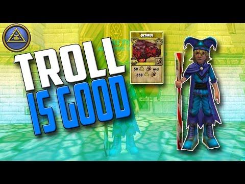 Wizard101 Level 10 Myth Pvp - TROLL MINION OP!!!