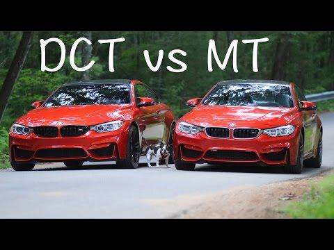 Dual Clutch vs Manual Transmission (DCT vs MT)  BMW M4 & M3