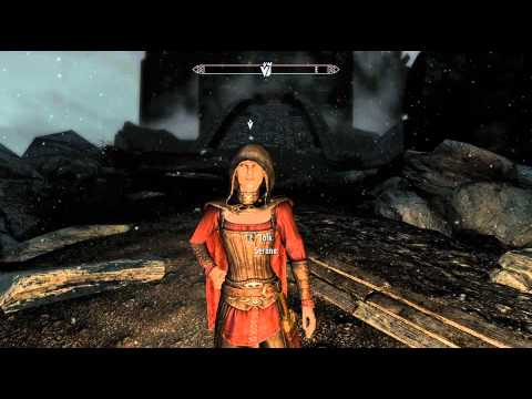 Skyrim - Dawnguard - Debugging Serena - She will follow you now. (PC Only)