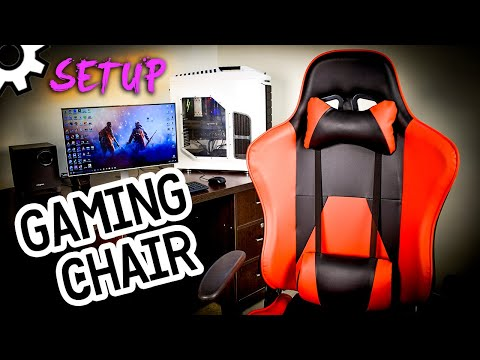 How to Setup Gaming Chair Online - Ultimate Assembly Tutorial (Step by Step)