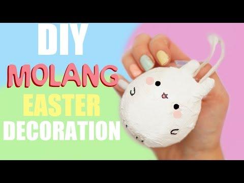 DIY MOLANG DECORATION   EASTER 2018