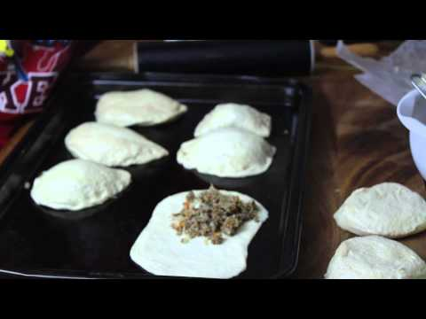 Directions for Making Easy Mini Runzas from Biscuit Dough